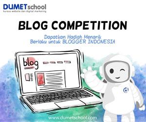 lomba blog dumet school
