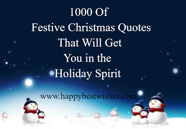 75 Unique & Heart Touching Quotes For Christmas