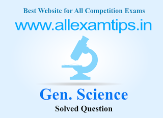 Model and Solved Question of Gen. science (Physics)