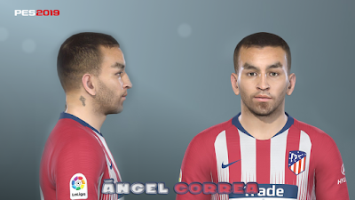 PES 2019 Faces Ángel Correa by Prince Hamiz
