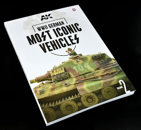 Read n' Reviewed: WWII German Most Iconic SS Vehicles. Volume II from AK Interactive.