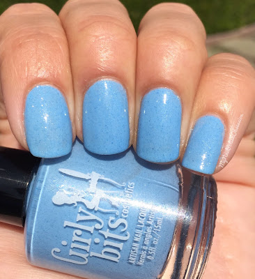 Girly BIts Cosmetics Sweet Nothings Collection, Spring 2016; Bleu de tes Yeux
