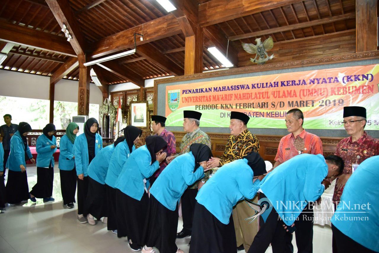 Mahasiswa KKN UMNU Kebumen Bentuk Majelis Birul Walidain di 10 Desa