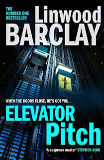Photo of the book cover of Elevator Pitch by Linwood Barclay
