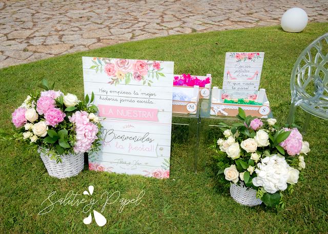 cartelería personalizada boda