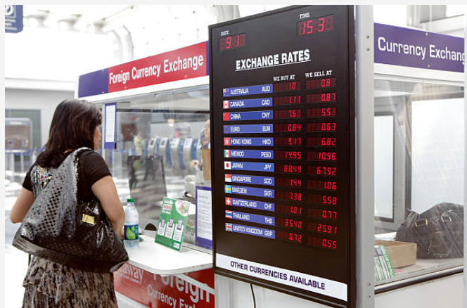 Foreign currency exchange, Money exchange services, money exchange rate in Bettiah