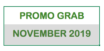 Promo Grab November 2019, Promo Grabbike November 2019, Promo Grab car November 2019