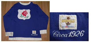 NHL CCM Heritage Jersey Collection - Portland Rosebuds Circa 1926