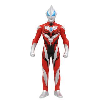 Ultraman Geed Soft Rubber Figure Toys 14cm