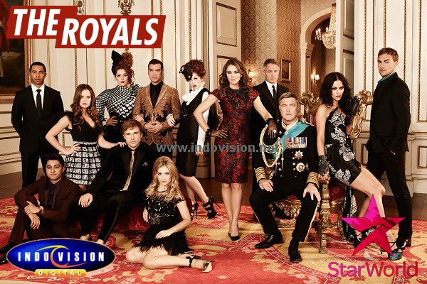 Jadwal tayang serial The Royals di channel Star World.