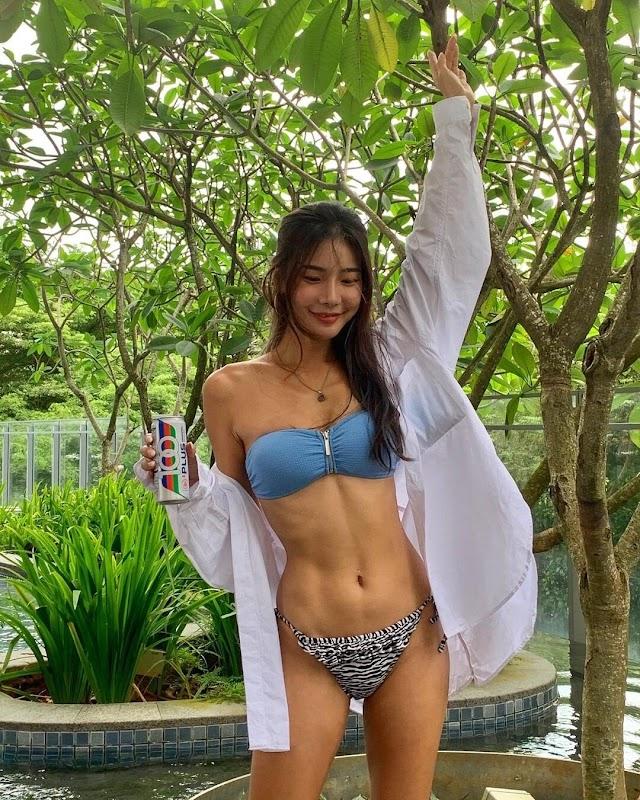 레이싱모델 '윤미진'의 후덜덜한 몸매