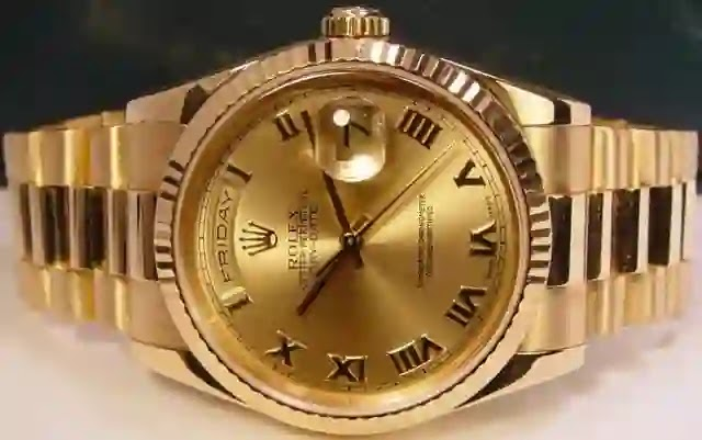 Rolex President Men's Watch 118238