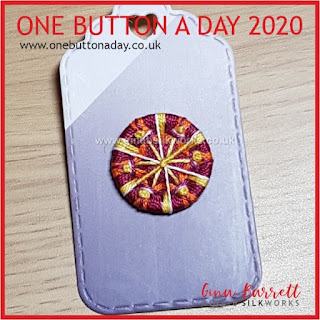 One Button a Day 2020 by Gina Barrett - Day 117 : Desert Star