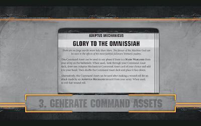 Command Assets Warhammer 40,000 Apocalypse-