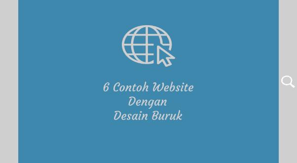 contoh website dengan halaman buruk