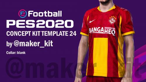 PES 2020 Concept Kit Template 24 by @maker_kit