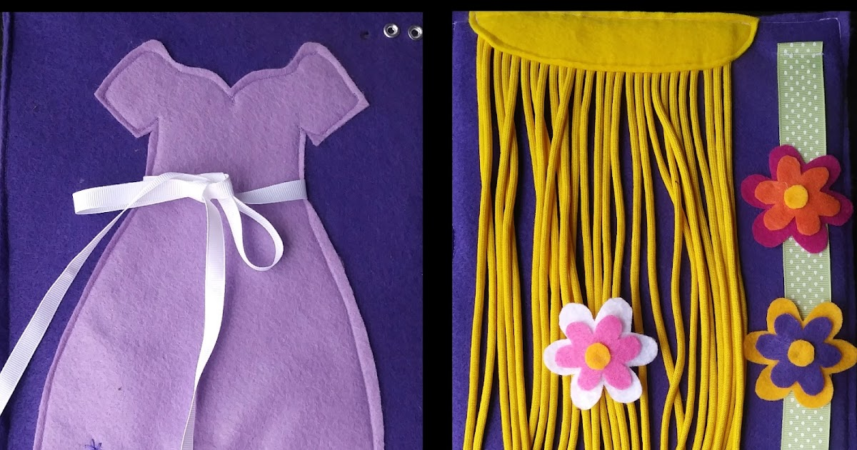 Tangled-Inspired Bow Tying and Hair Braiding Activities ...