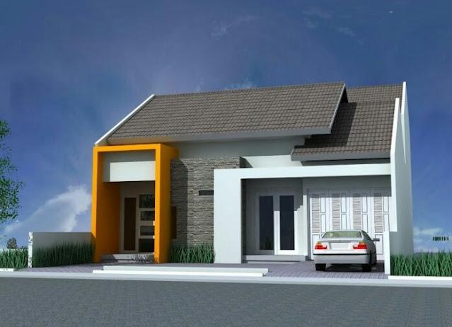 simple village house design picture