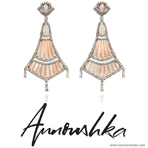 Queen Rania Jewelry ANNOUSHKA Flamenco Earrings