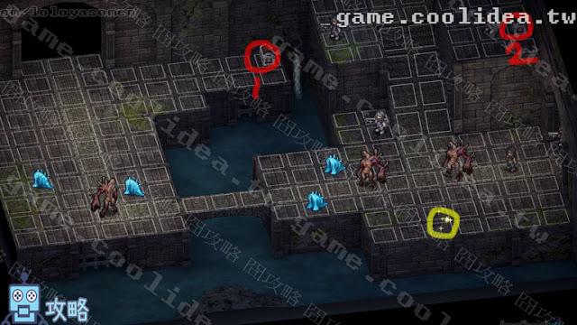Mercenaries Blaze 傭兵烈焰 黎明雙龍 攻略 第18章 戰場資訊
