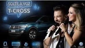 Promoção T-Cross Solte Sua Voz - Ingressos Shows Sandy e Junior 30 Anos Carreira