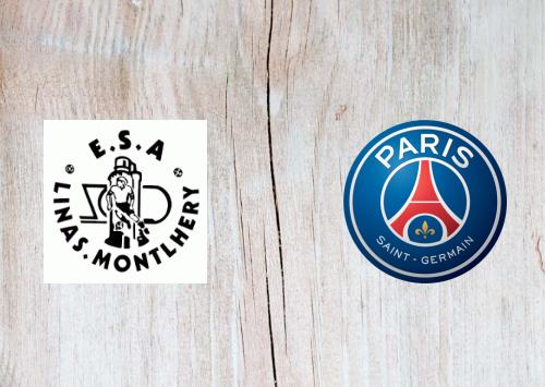 Linas-Montlhery vs PSG -Highlights 5 January 2020