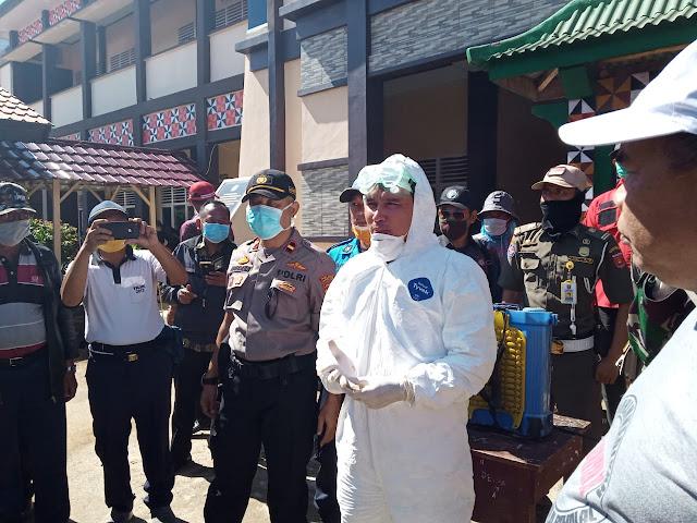 Parosil Bersama Ribuan Personel 'Serang Covid-19) di 15 Kecamatan