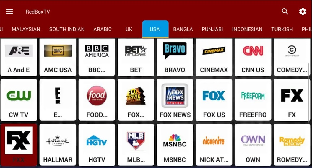 best free live tv app for android india