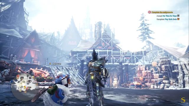 Screenshot Gameplay MHW: Iceborne