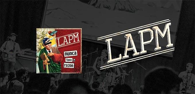 """LAPM stream new song """"Nunca Tuve La Razón"""""""