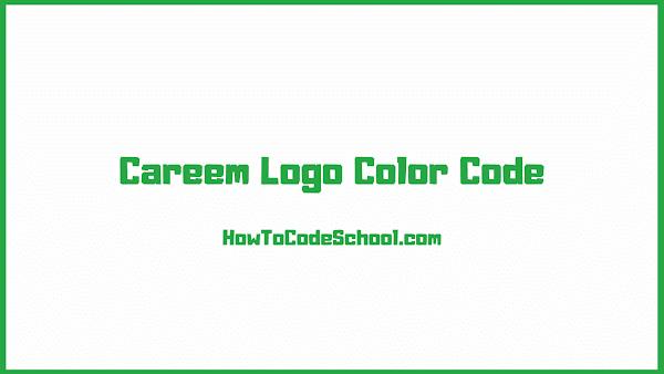 Careem Logo Color Code