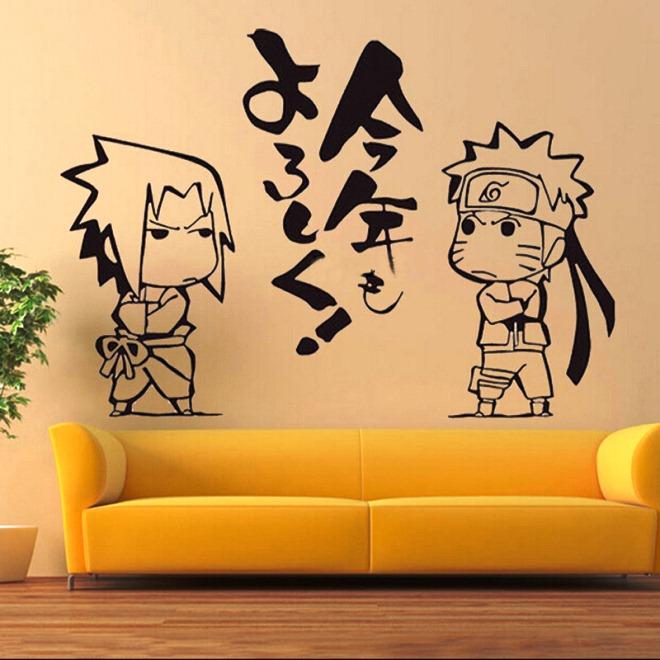 Wallpaper Dinding Lucu Tema Naruto