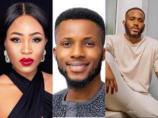 #BBNaija2020: Erica Complains As Kiddwaya Permits Brighto To Give Her A Massage, Says She Expected Him To Get Jealous And Say No (WATCH VIDEO)