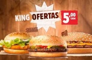 Lanches Burger King Por 5 Reais - Saiba Quais São e Aproveite