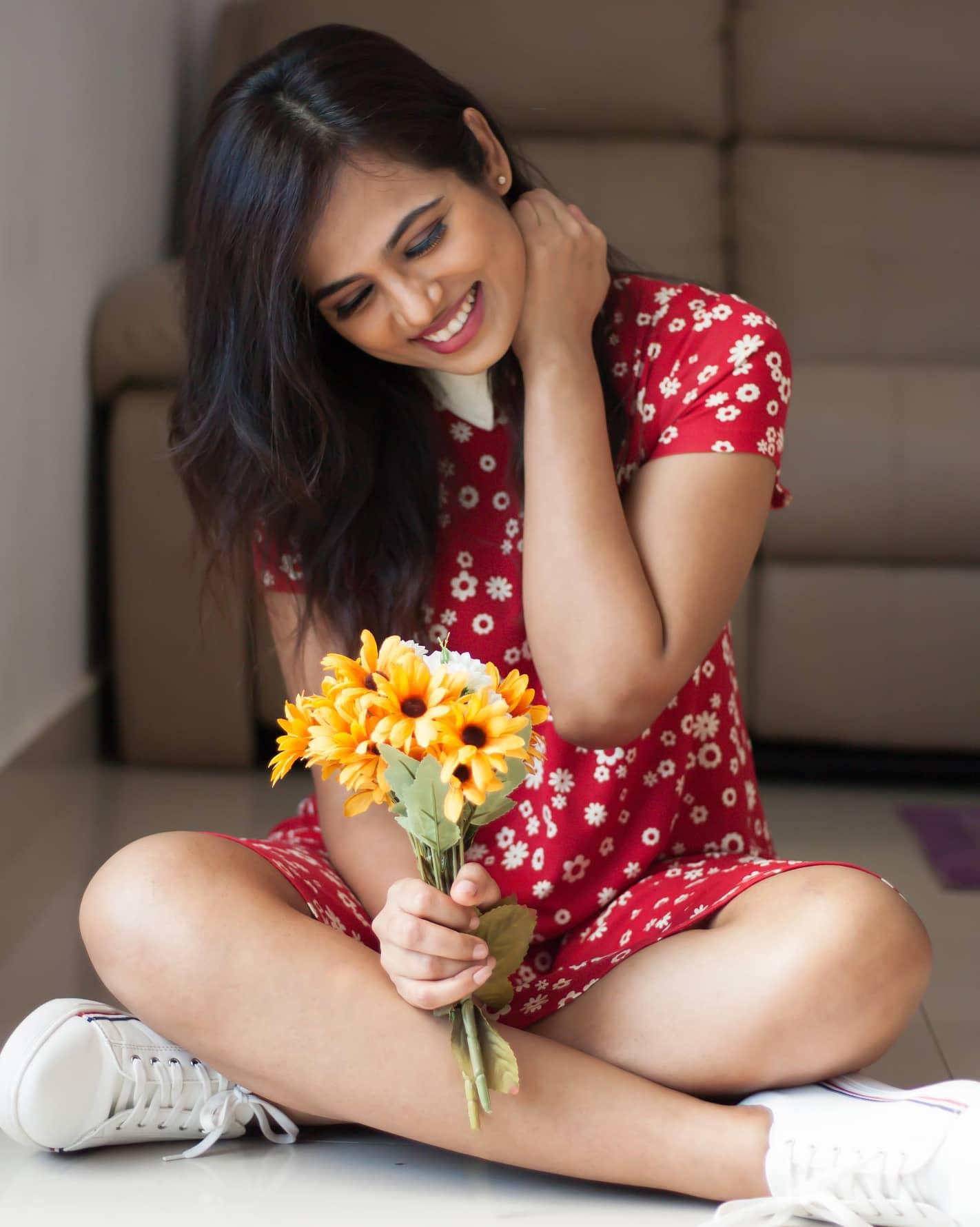 Actress Ramya Pandian Latest Stills