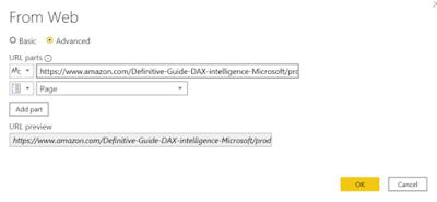 Screenshot of Advanced Get Data from Web