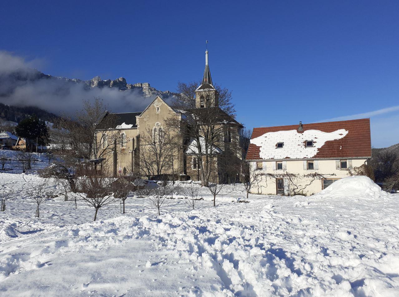 L'église de Saint-Bernard-du-Touvet