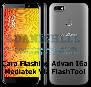 Cara Flashing Advan I6a Mediatek Via FlashTool