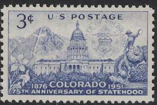 Colorado Statehood. Mount Holy Cross