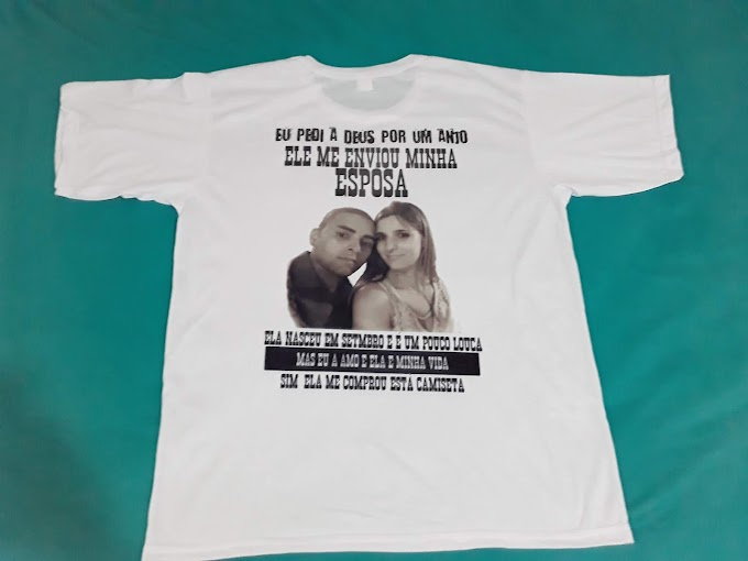 Camiseta Personalizada Esposa Querida