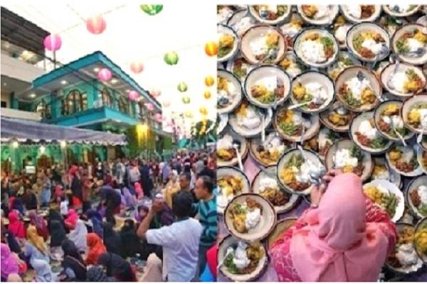Inilah Masjid Jogokariyan, Masjid yang Saldonya Selalu 0 Rupiah dan Tiap Jumat Ada 500 - 1.000 Piring Nasi Gratis