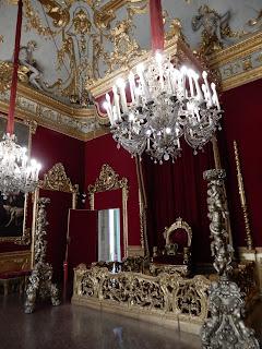 ジェノヴァのMuseo di Palazzo Realeの玉座の間