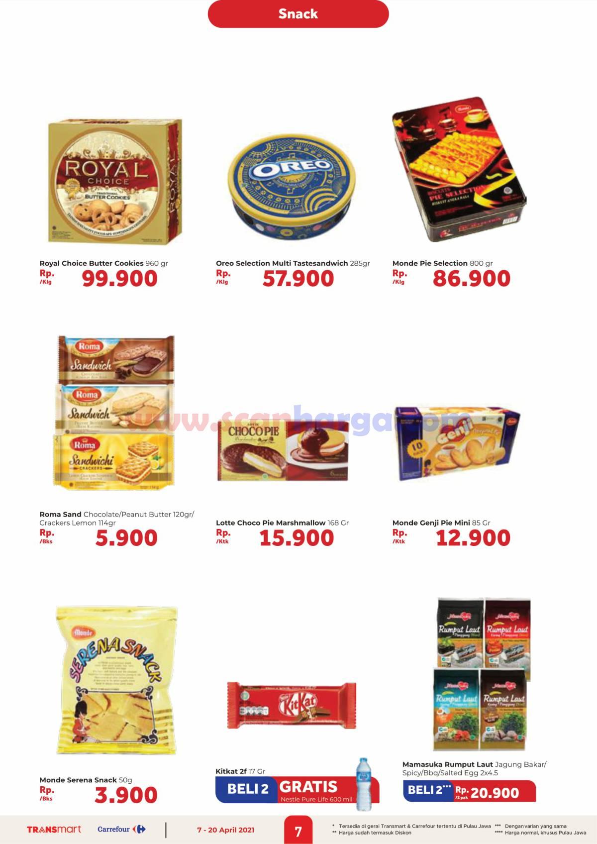 Katalog Promo Carrefour Transmart 7 - 20 April 2021 7