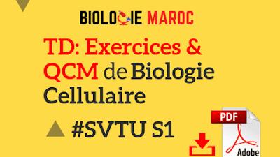 exercices de Biologie Cellulaire SVT S1