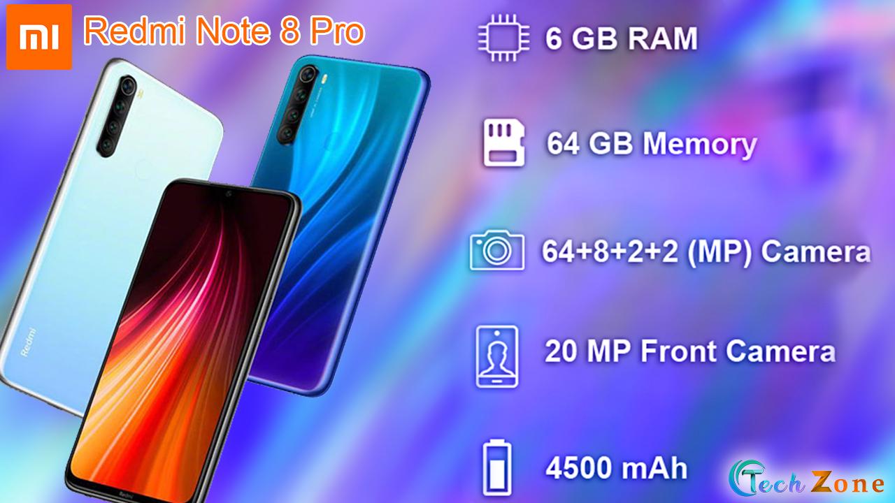Xiaomi Redmi Note 8 Pro Full Specifications Detals