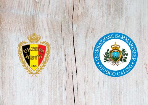 Belgium vs San Marino -Highlights 10 October 2019
