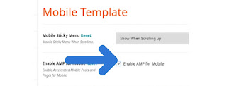 How To Enable Amp In Magone Amp Blogger Template