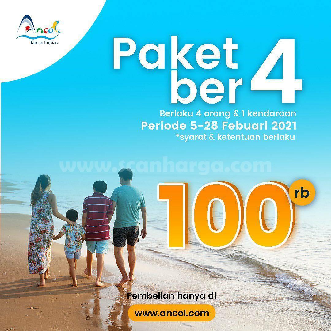 Promo Ancol Taman Impian Paket Ber-4* Harga cuma Rp 100.000