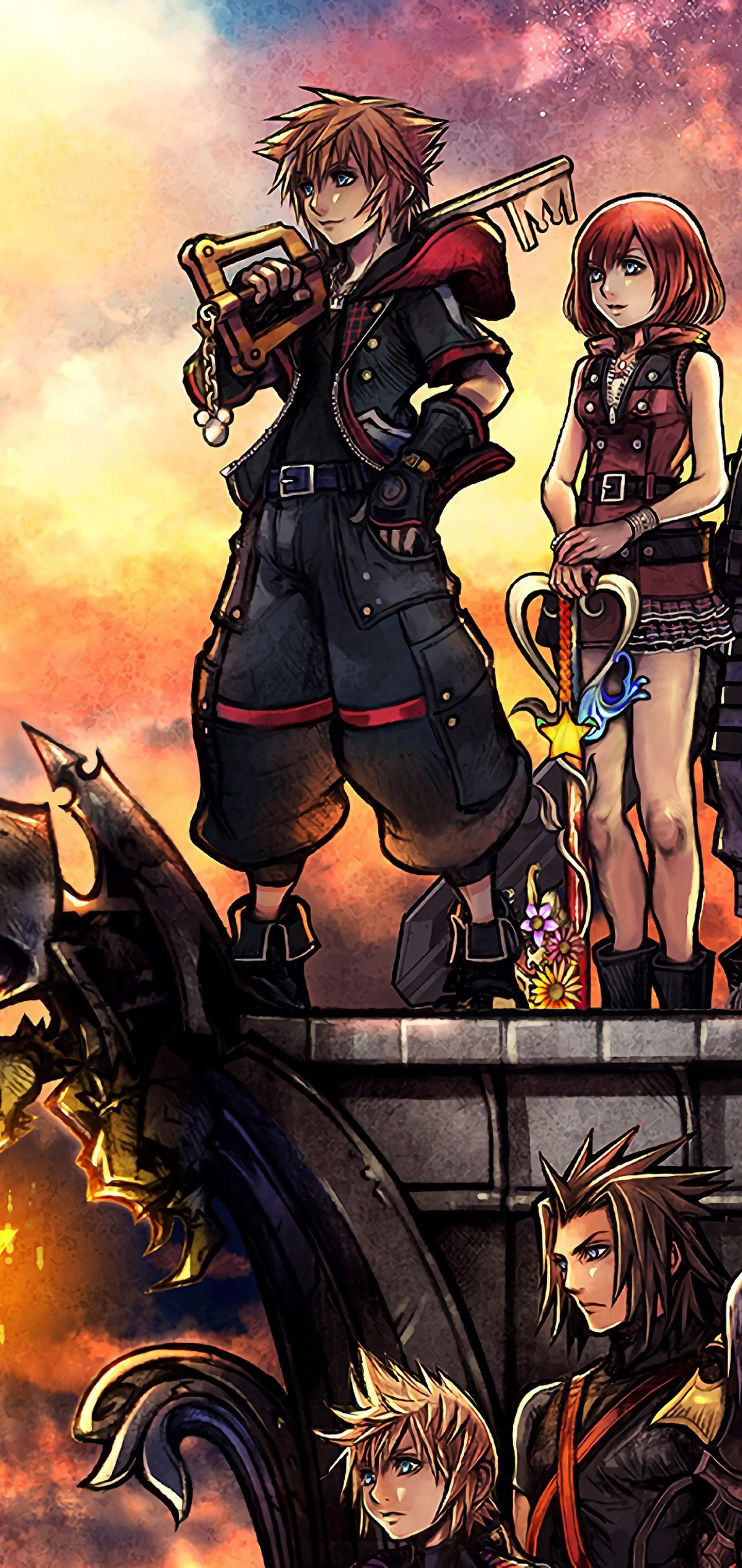 Kingdom Hearts 3 Characters 4k 3840x2160 Wallpaper 12