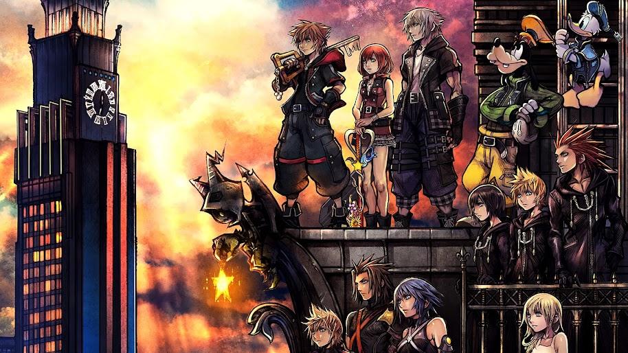 Kingdom Hearts 3 Characters 4k 3840x2160 12 Wallpaper